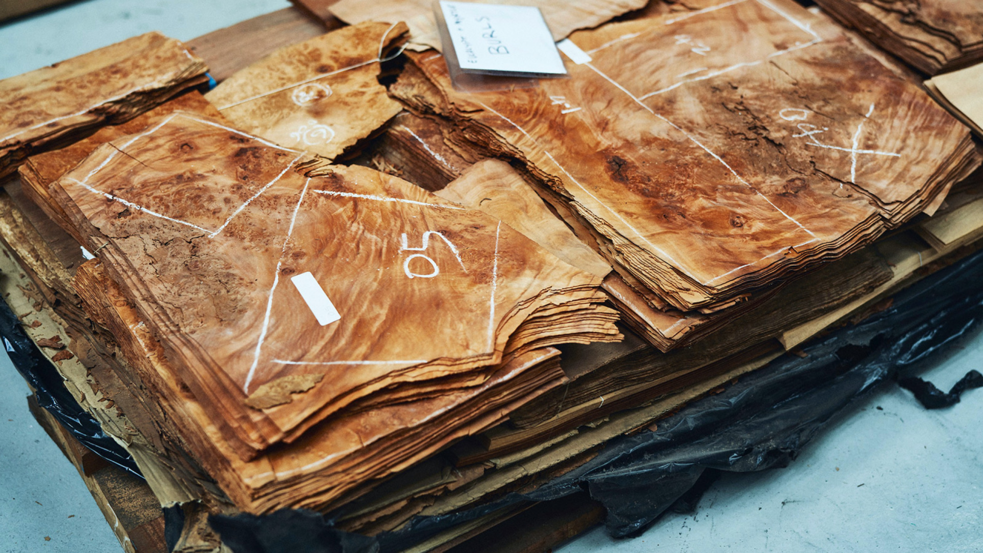 The heritage timber veneer archive of Elton Group